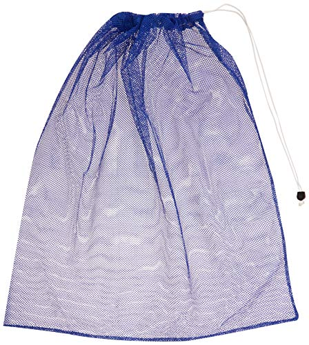 BSN Heavy-Duty Mesh Equipment Bag (Blue)