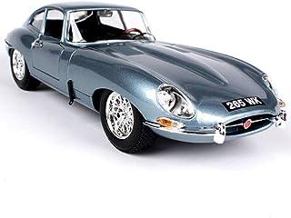 Collectibles - Mini Cars - Proportion 1/18 Model - Jaguar E-Type Coupe Classic Car - Simulation Car Model - Alloy Car Mode...
