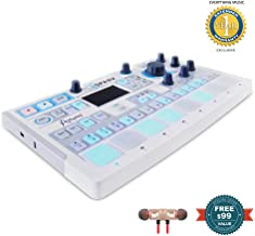 Arturia SparkLE Hardware Controller and Software Drum Machine includes Free Wireless Earbuds - Stereo Bluetooth In-ear and 1 Year Everything Music Extended Warranty