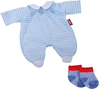 Götz 3403085 Babykombi Pfiffikus - Puppenbekleidung Gr. S - 3-teiliges Bekleidungs- und Zubehörset für Babypuppen von 30 - 33 cm