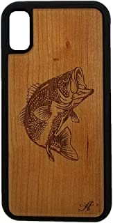 wood engraved cell phone case