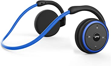 Small Bluetooth Headphones Behind The Head, Sports Wireless Headset with Built in..