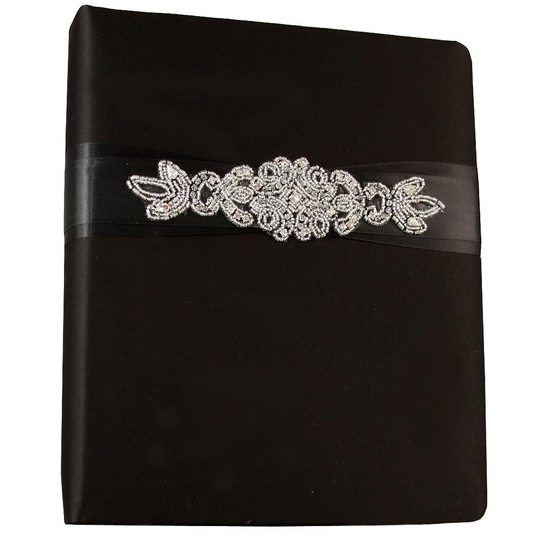 Ivy Lane Design Wedding Accessories Memory Book, Adriana, Black