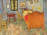 1art1 Vincent Van Gogh - El Dormitorio En Arlés, 1889 Póster Impresión Artística (80 x 60cm)