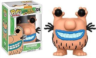 Funko Krumm: Nickelodeon Aaahh!!! Monstruos reales de polipropileno. Figura de vinilo de animación y 1 POP. Paquete de protectores gráficos de plástico PET compatibles [#224 / 13051 - B]