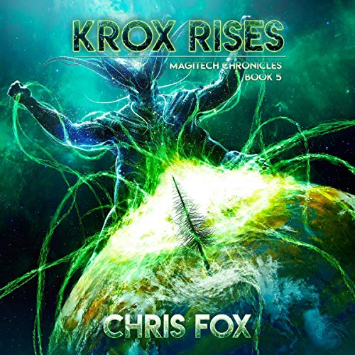 Krox Rises audiobook cover art