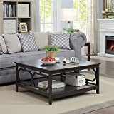 Convenience Concepts Omega Square 36' Coffee Table, Espresso
