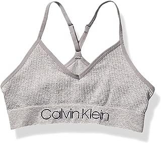 Calvin Klein Girls' Kids Seamless Crop Wirefree Comfort Bralette Bra