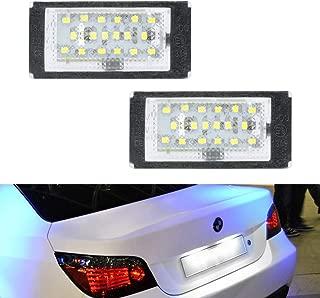 bmw e46 license plate light assembly