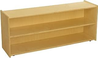 Childcraft ABC Furnishings 2-Shelf Storage Unit, 48 x 13 x 20 Inches
