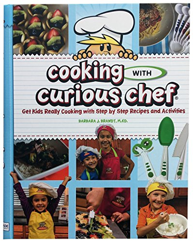 Curious Chef Kids Cookbook - 36 Recipes I Step by Step, 12 Sets of Photo Instructions, Shopping Lists & More! I Teach Children Basics of Healthy Nutrition