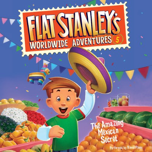 Flat Stanley's Worldwide Adventures, #5 audiobook cover art