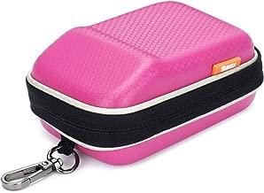 Pink Hard Shock Resistant Resistant Compact Digital Camera Case For CANON PowerShot SX730 SX720 SX620 HS G9 X Nikon COOLPIX W100 Panasonic Lumix DMC TZ80 TZ70 SONY Cyber-Shot HX90 OLYMPUS TOUGH TG-5