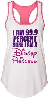 "Women's Fitness and Running Yoga Tank Top ""99% Sure Im a Disney Princess"""