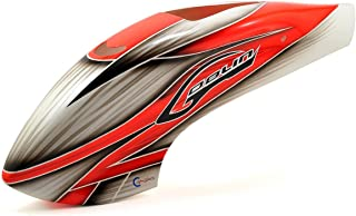 SAB Canomod Airbrush Canopy Red/White - Goblin 500 [H0271-S]