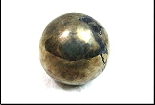 Jet Natural Pyrite 45-50 mm Ball Sphere Gemstone A+ Hand Carved Crystal Altar Healing Devotional Focus Spiritual Chakra Cleansing Metaphysical