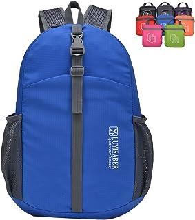 ZUMUii Butterme Agua Densidad Packable Plegable Ligero Viajes Outdoor Sports Mochila de Mochila Daypack, Azul