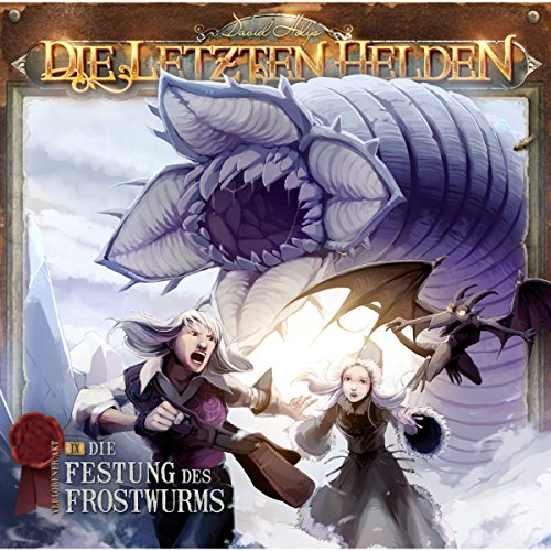 Die Festung des Frostwurms audiobook cover art