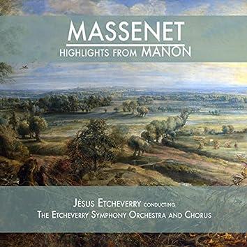 Massenet: Highlights from Manon