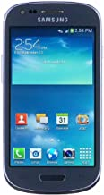 Samsung Galaxy S3 Mini G730a 8GB Unlocked GSM 4G LTE Android 4.1 Smartphone - Blue