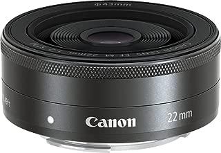 Canon EF-M 22mm f/2 STMLens,Siilver(EFM2220ST)