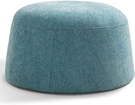 Yxsdd Ottoman Footstools Bamboo Stool Step Stool Cloth Change Shoes Stool Simple Sofa Coffee Table Low Stool Living Room S...