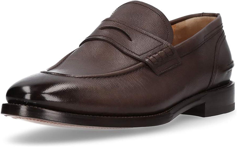 BALLY Herren Slipper Schuhe Mokassins echt echt echt Leder Halb Loafer bequem B07K3SBWB7  cd183d