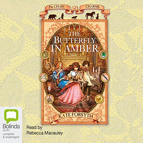 The Butterfly in Amber audiobook cover art