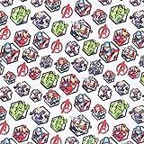 Cretonne Lizenzstoff Avengers Motivkacheln   Marvel –