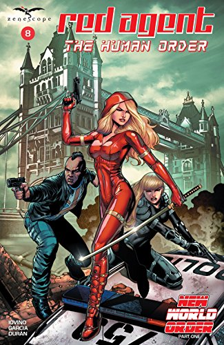 Red Agent: The Human Order #8 (English Edition)