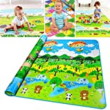 Zofey Double Sided Water Proof Baby Mat Carpet Baby Infant Crawling Play Mat