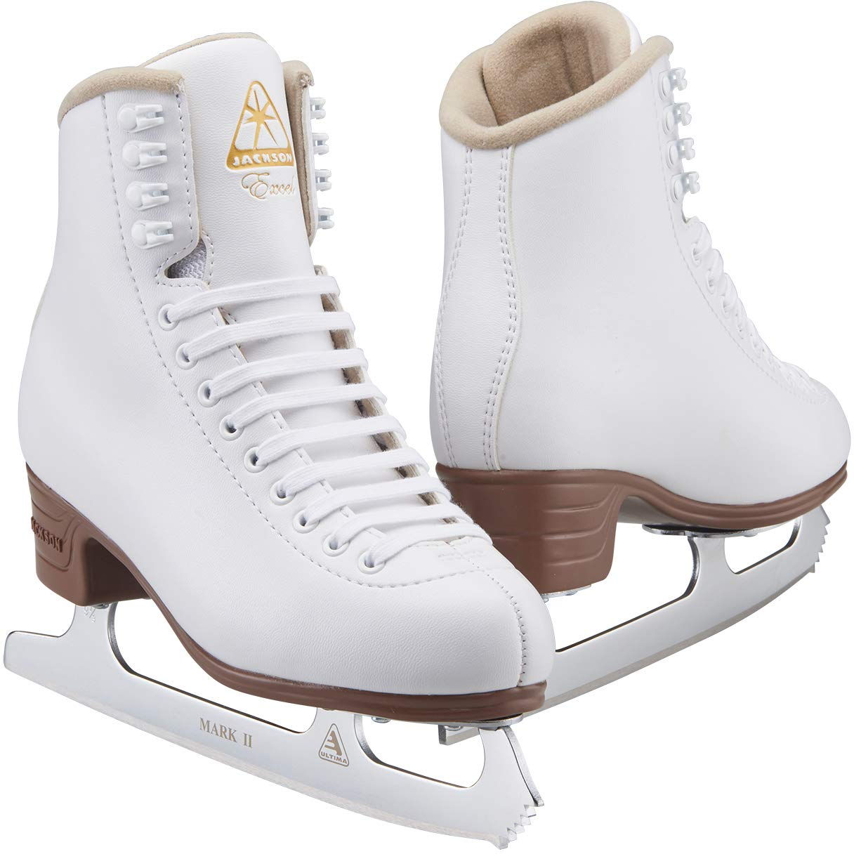 Jackson Ultima Excel Series JS1290 / JS1291 / JS1294 White, Women's and  Girls Figure Ice Skates : Amazon.in: Toys & Games