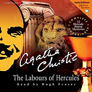 The Labours of Hercules audiobook cover art