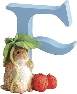 Enesco Beatrix Potter Peter Rabbit and Friends Alphabet Letter F Timmy Willie