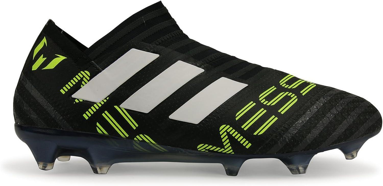 Adidas Men's Nemeziz Messi 17.1 + FG CORE Black White Solar Yellow shoes