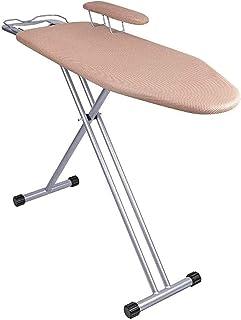 Table à repasser Couvercle de tissu respirant, planche à repasser, pliante grande planche à repasser avec stand de la manc...