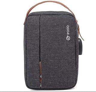 POSO Bag For Unisex,Grey - Baguette Bags