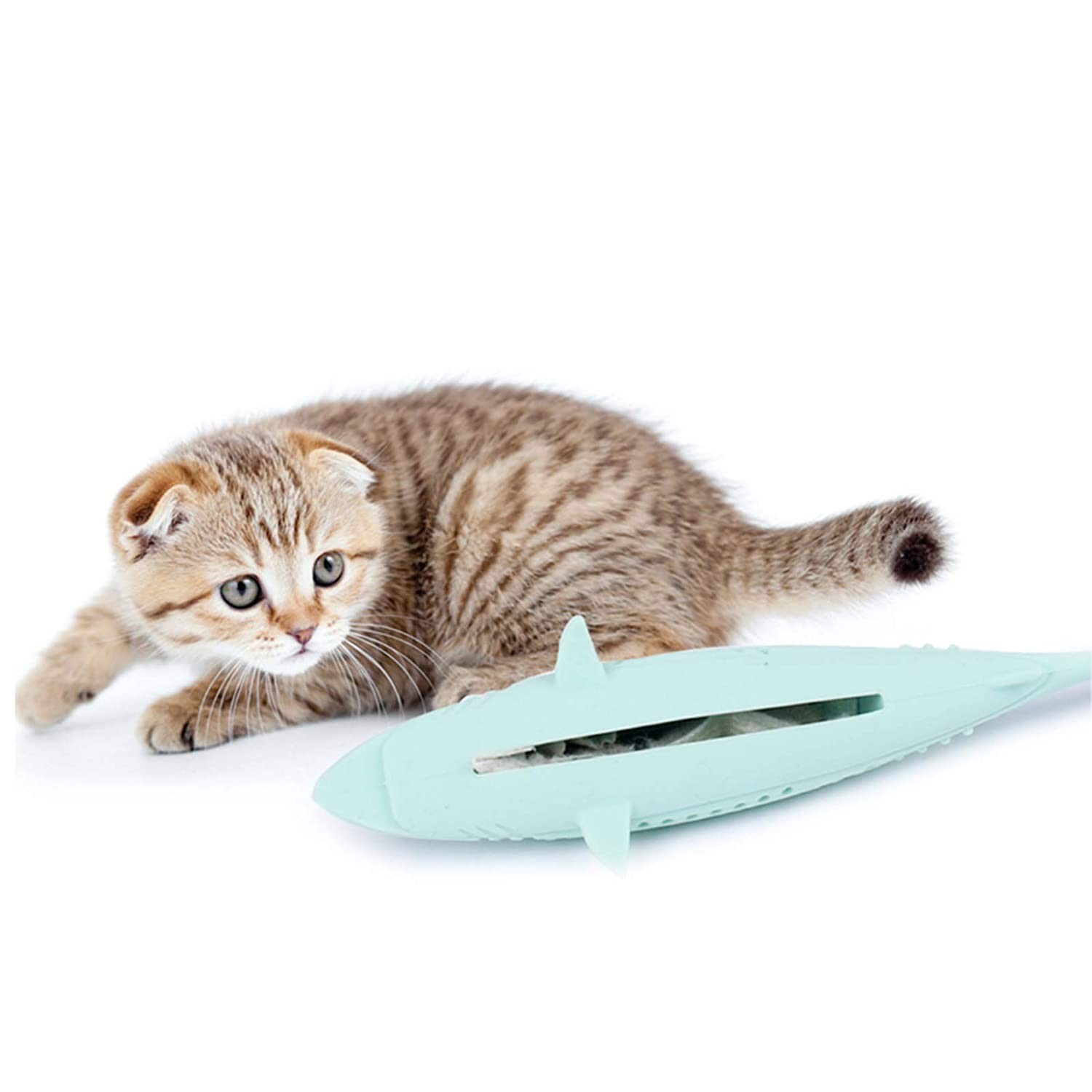 NCONCO Store Fish Shape Kitten Cheap mail order specialty store Toy Silicone Che Cat Teeth