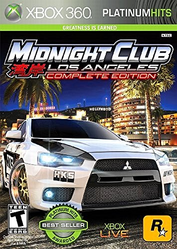 Take-Two Interactive Midnight Club: Los Angeles