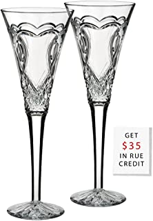 waterford wedding flutes