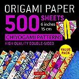 Papel para Origami con 500 Hojas