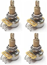 CTS TAOT CUSTOM 525K LONG Shaft Potentiometers - 10% Tolerance - 500K - Set of 4 (4X)