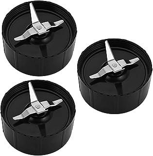 3 pcs Lame de Remplacement pour 200 W Magic Bullet Blender Extracteur de jus, Magic Bullet Pièces de Rechange de Lame, Acc...