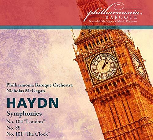 Sinfonien 104 London/88/101 Uhr