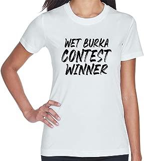 Wet Burka Contest Winner Women's Short Sleeve T Shirt
