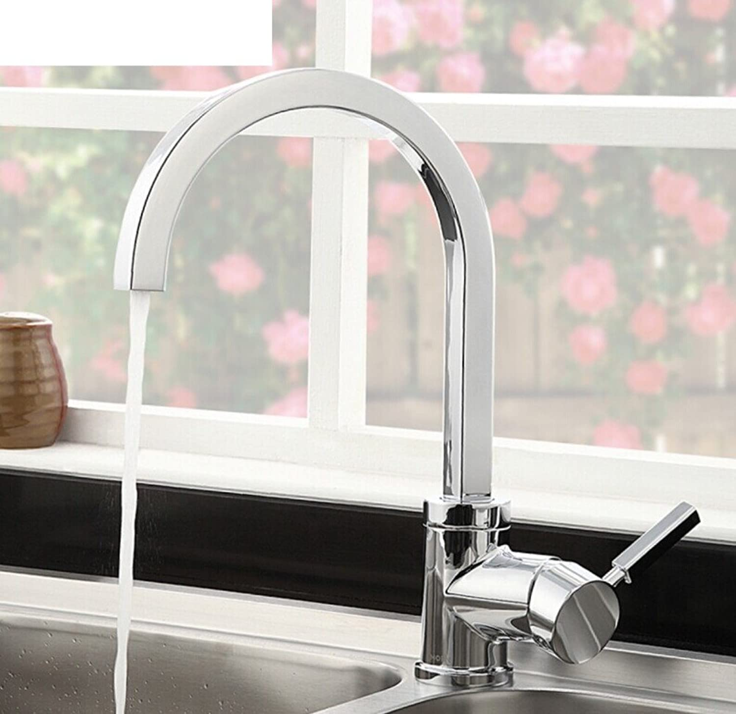 ZHF Hot and cold kitchen faucet hole redatable sink faucet KITCHEN faucet