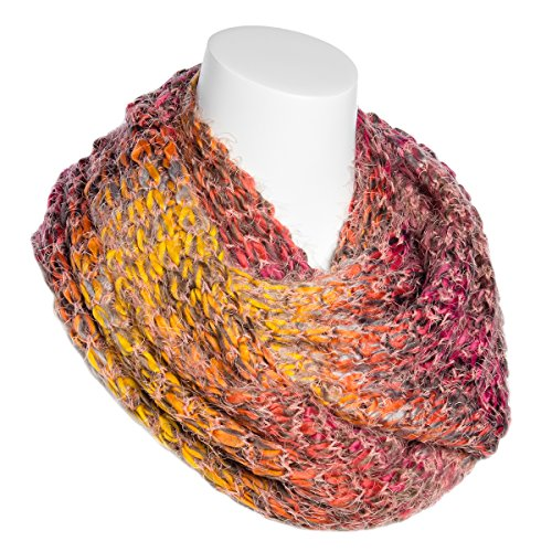 Women's Infinity Scarf Warm Winter Oversize Ladies Wrap Lightweight Knit Shawl