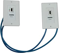 Tripp Lite HDMI over Dual Cat5/Cat6 Extender Wall Plate Kit with Transmitter and Receiver, TAA, 3 Year Warranty (P167-000)