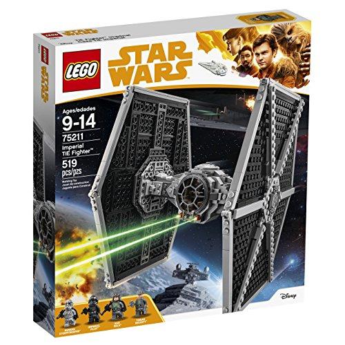 Vaisseau Empire Impériale TIE Fighter Chasseur LEGO Star Wars 75211 - 519 Pièces - 3