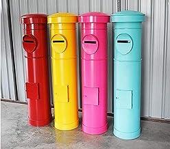 Pole-stijl brievenbus, vloer staande brievenbus/decoratieve fotografie rekwisieten decoratie doos/outdoor tuin gegalvanise...